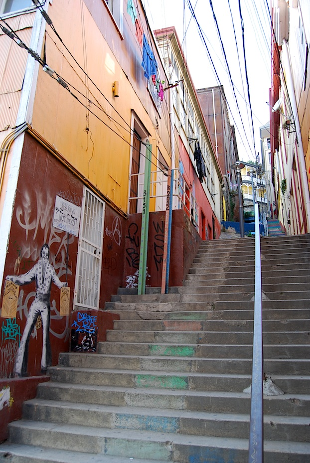 Chile Valparaiso Elvis