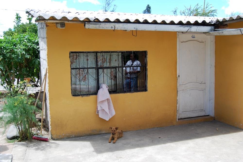 Das Wohnhaus von Familie