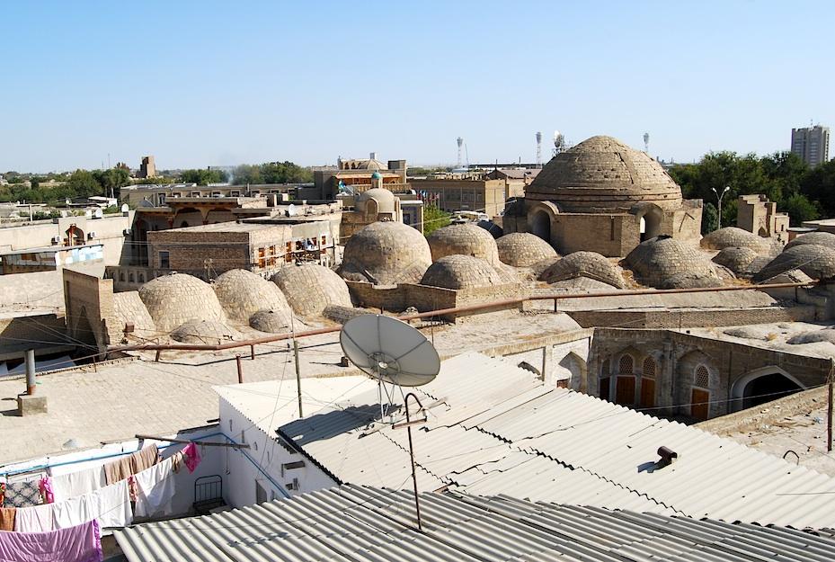 Usbekistan Handelskuppeln