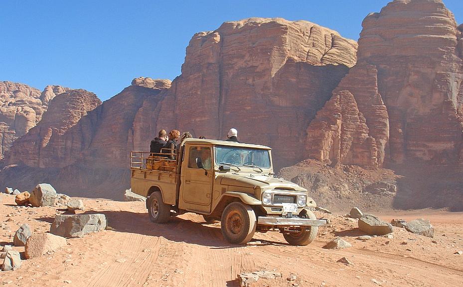 Jordanien Wadi Rum Safari