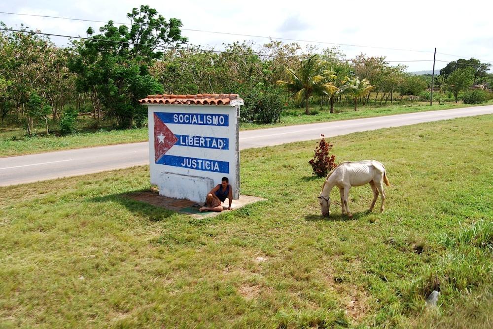 Kuba Bahnfahrt