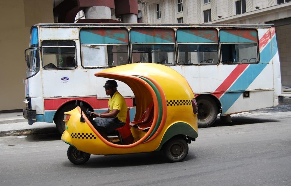 Kuba Verkehr in Havanna