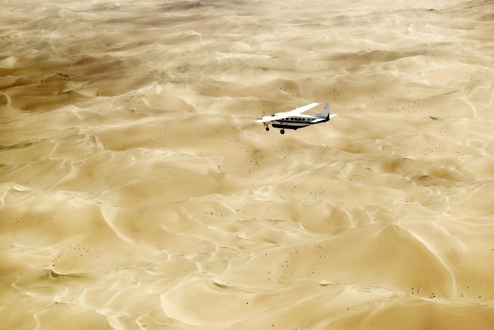 Namibia Cessnaflug