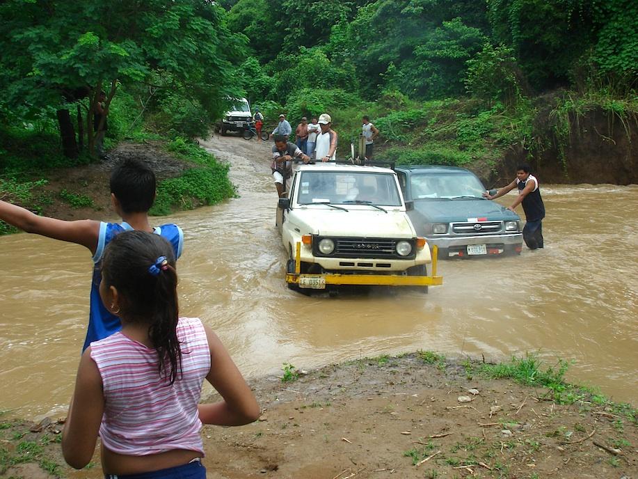 Nicaragua Überschwemmung
