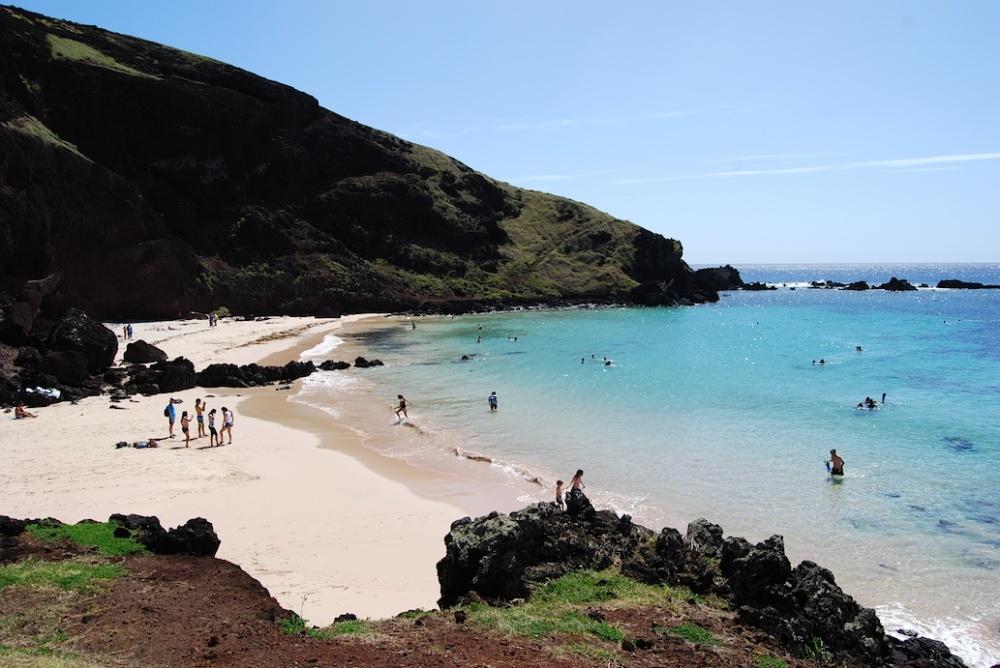 Osterinsel Strand