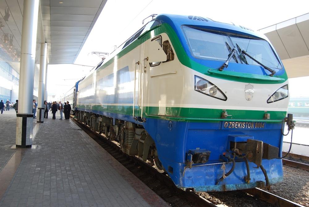Usbekistan Bahnhof Taschkent
