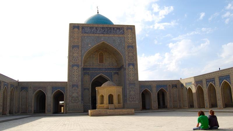 Die schiefen Minarette vonSamarkand