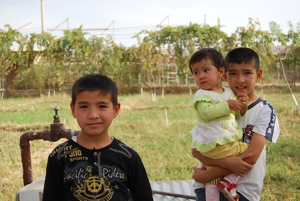 Auf dem Land sind die Familien kinderreich.