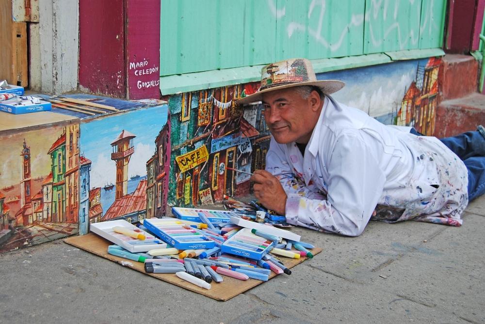 Valparaiso Künstler