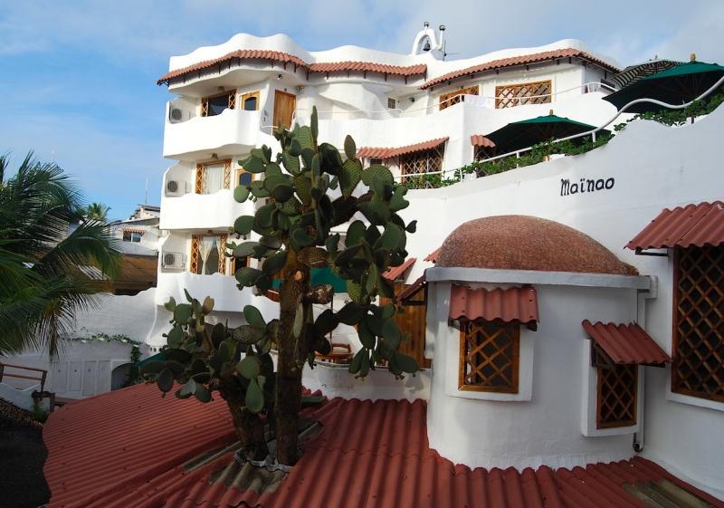 Hotel Mainao, ein Hauch von Hundertwasser undAndalusien