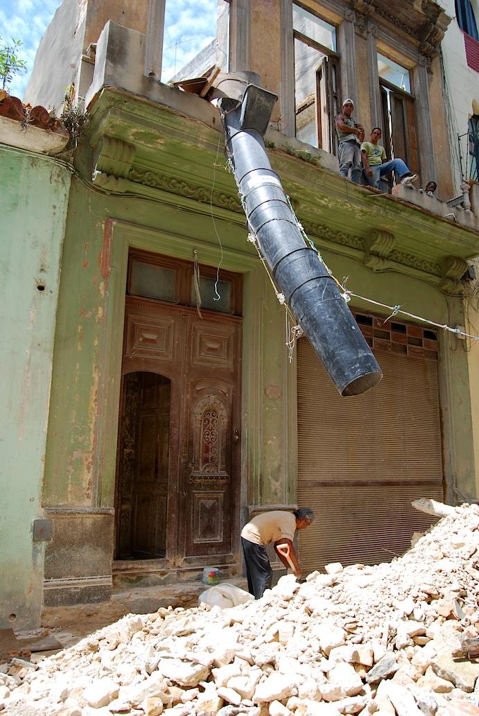Havanna Baustelle