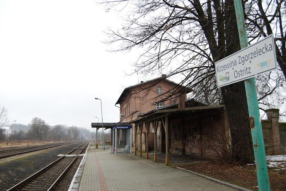 Ostritz Bahnhof