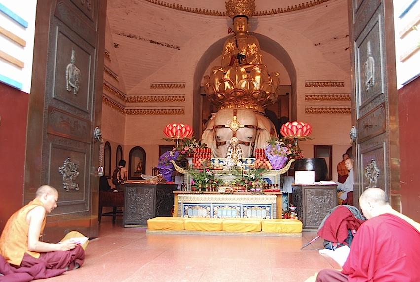 China Berg Emei Tempel