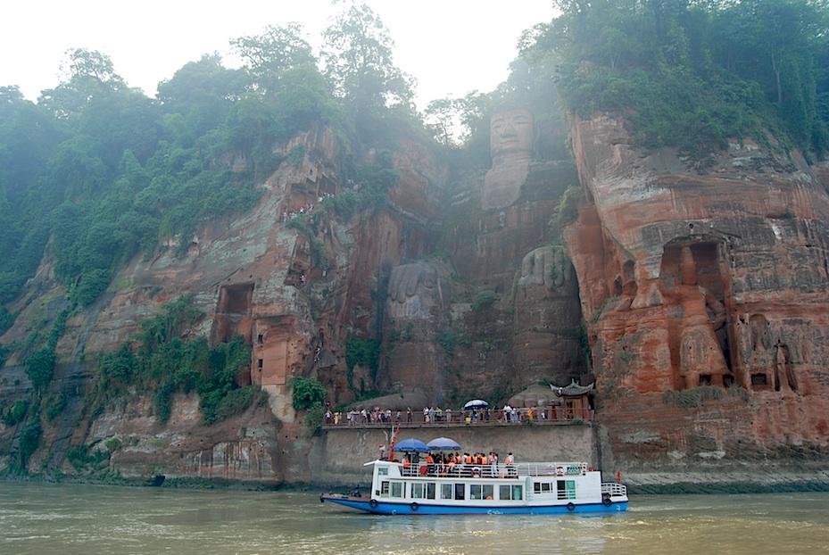 China Leshan Buddha