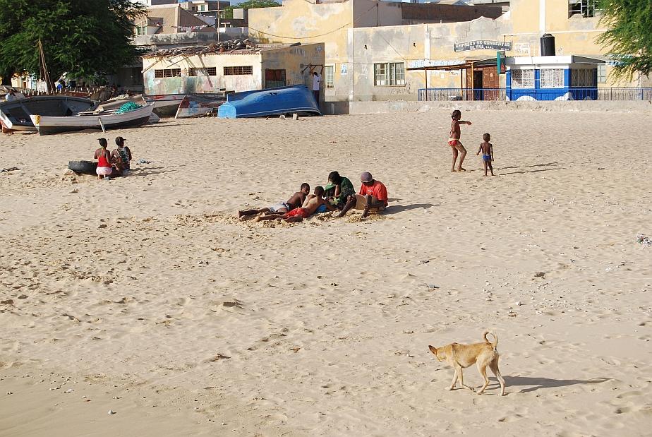 Kapverden Boavista Strand