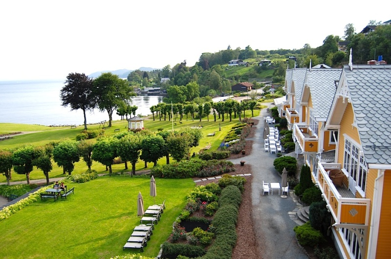 Solstrand Hotel & Bad, Fjordblick undFußbodenheizung