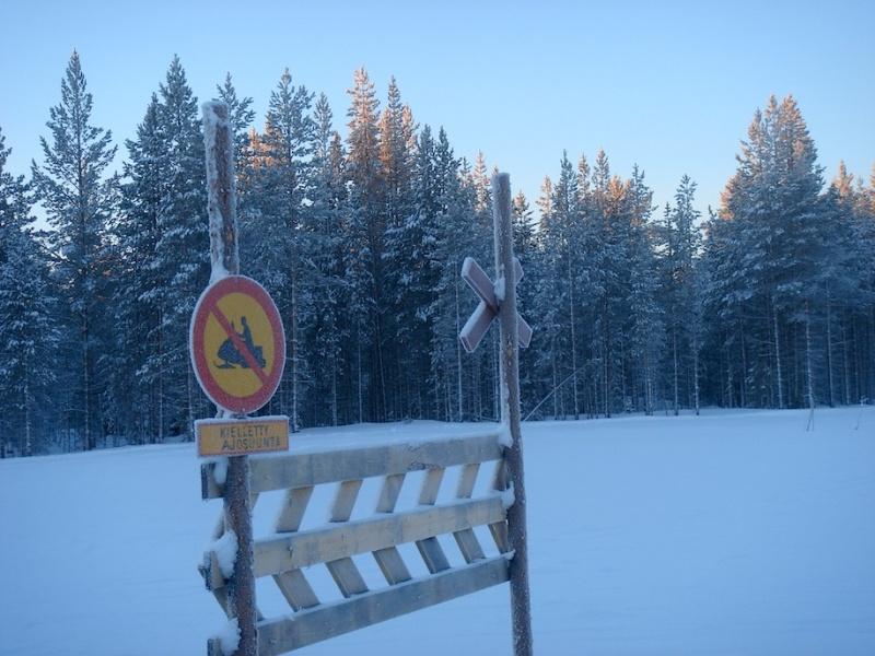 Schockfrostung in Finnisch-Lappland