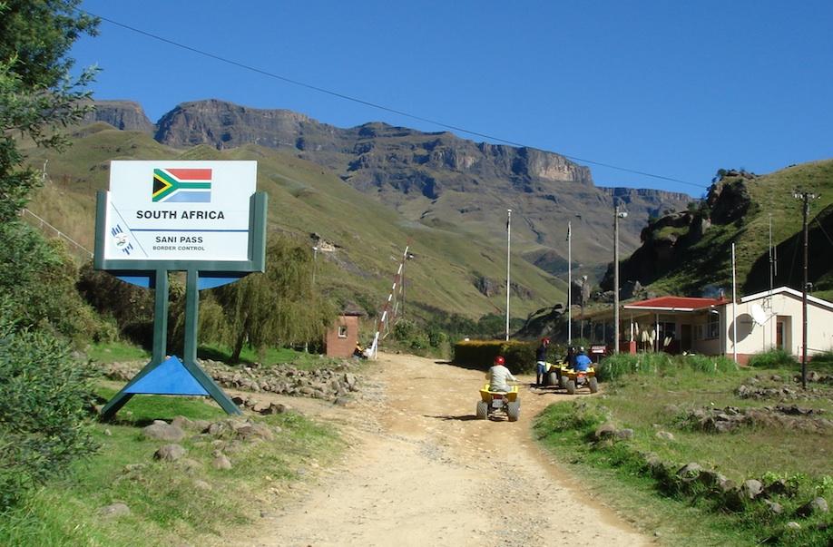 Lesotho Grenze