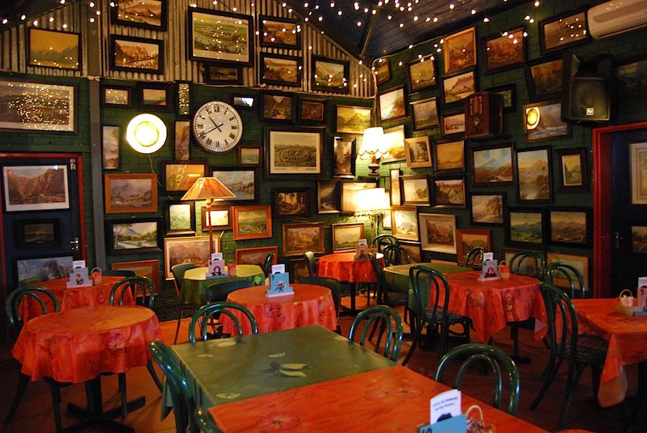 Südafrika Evita Restaurant