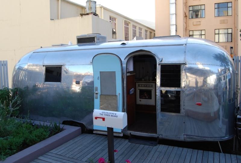 Grand Daddy Hotel, Vintage-Wohnwagen inKapstadt