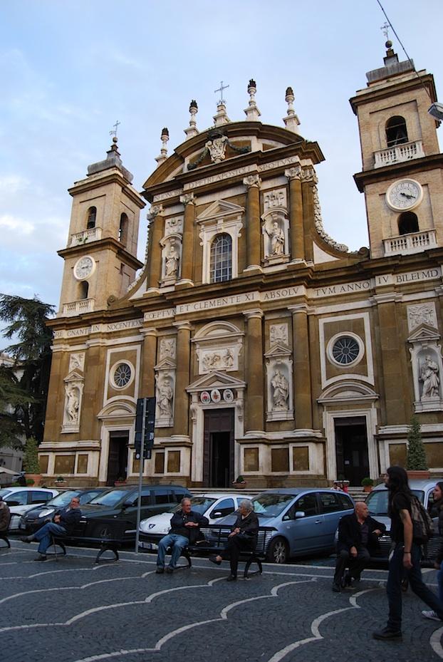 Italien_Frascati_Kirche