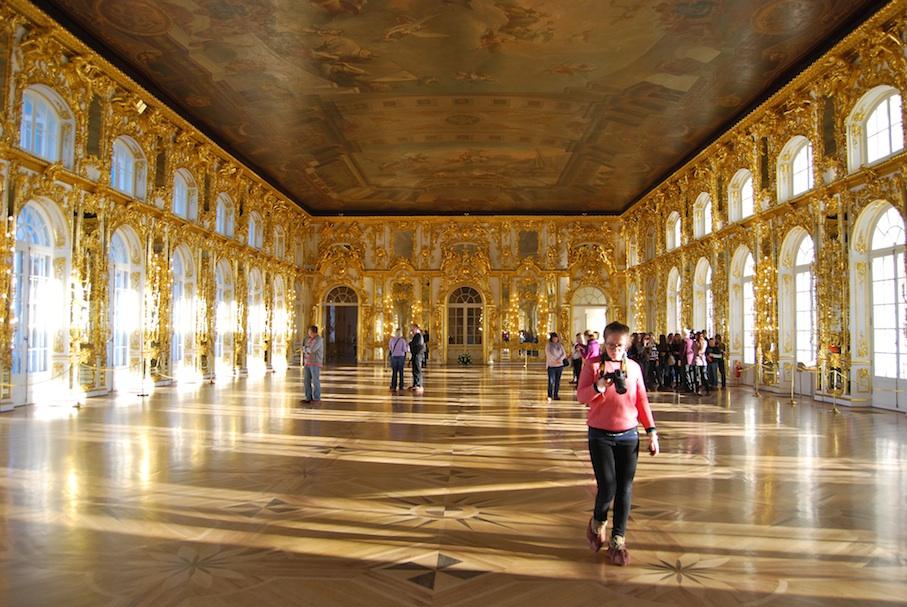 Russland_Katharinenpalast_Goldener_Saal