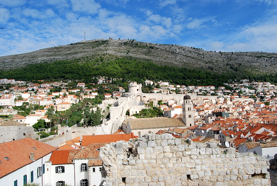 Kroatien_Dubrovnik_Stadtmauer