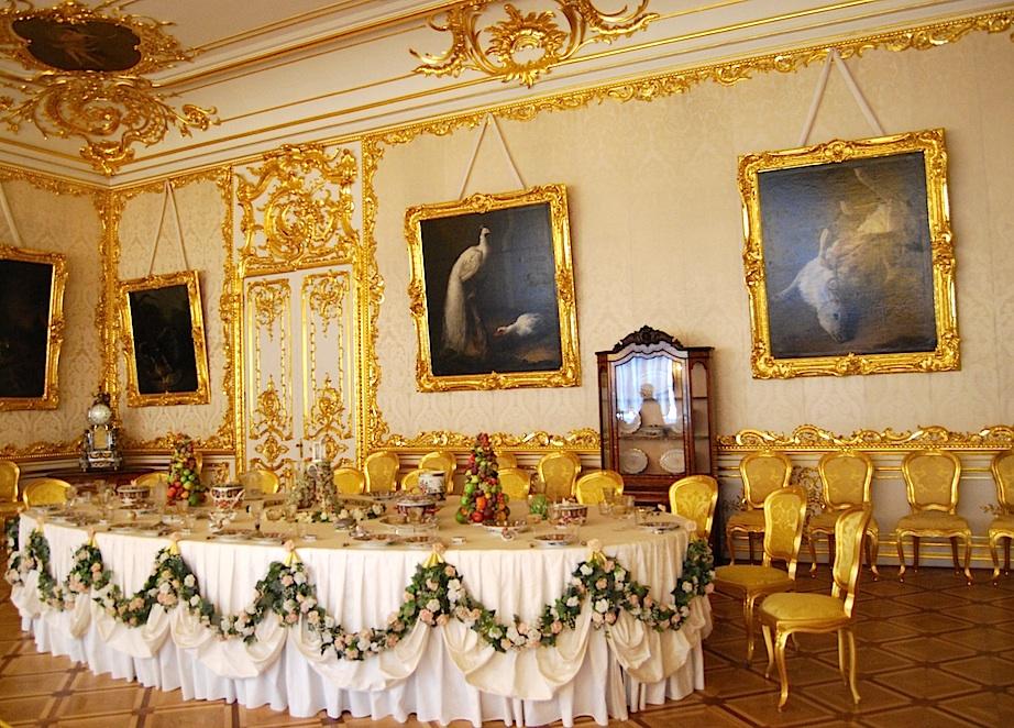 Sankt_Petersburg_Katharinenpalast_Esszimmer
