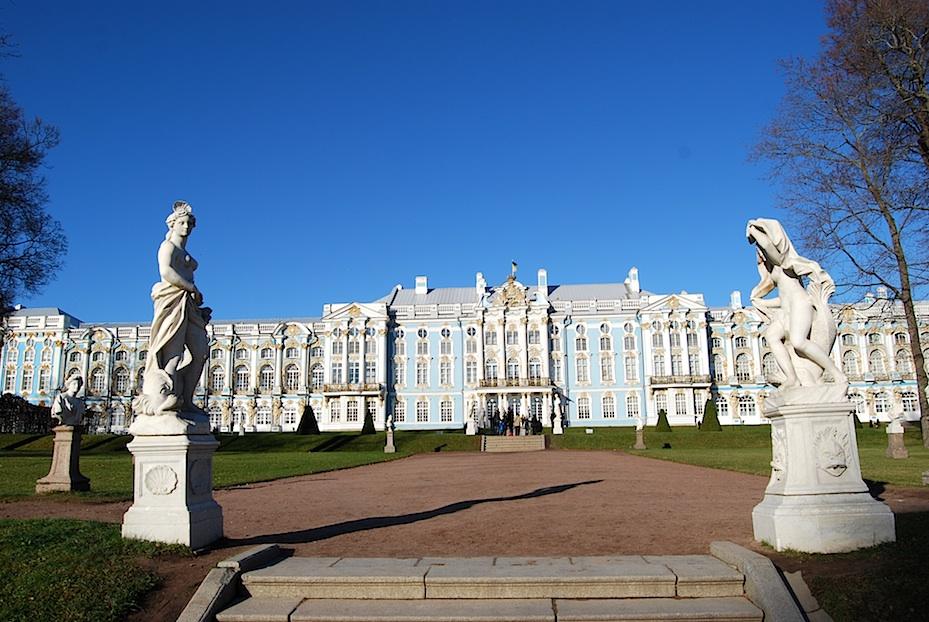 Sankt_Petersburg_Katharinenpalast_Schlossgarten