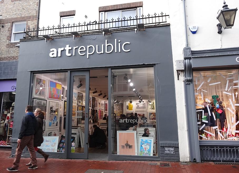 Brighton_North_Laine_Kunstgalerie