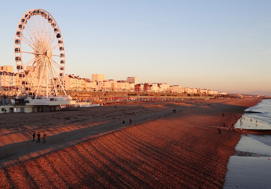 Brighton_Sonnenuntergang2