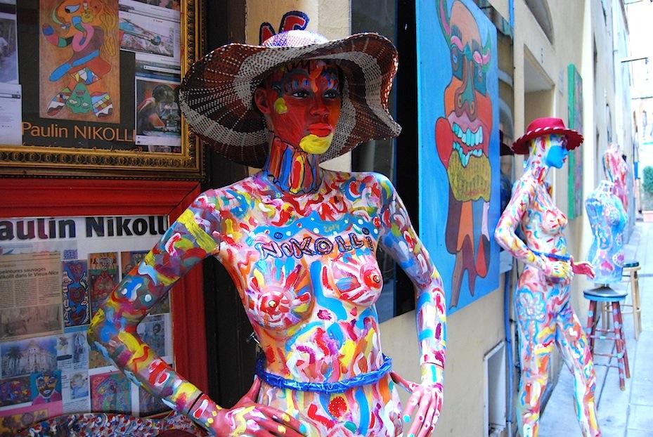Nizza_Altstadt_Kunst