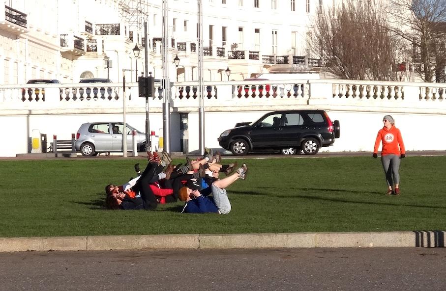 Brighton_Promenade_Gymnastik