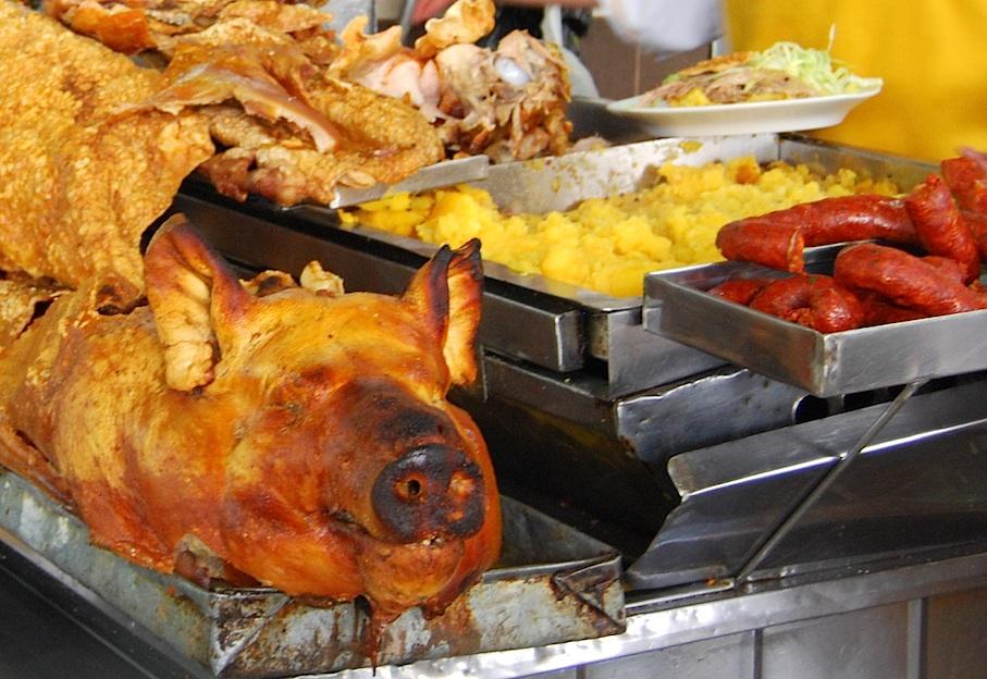 Ecuador_Quito_Markt_Fleisch