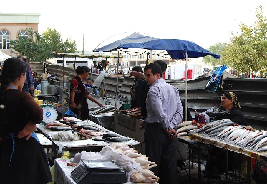 Usbekistan_Samarkand_Markt3