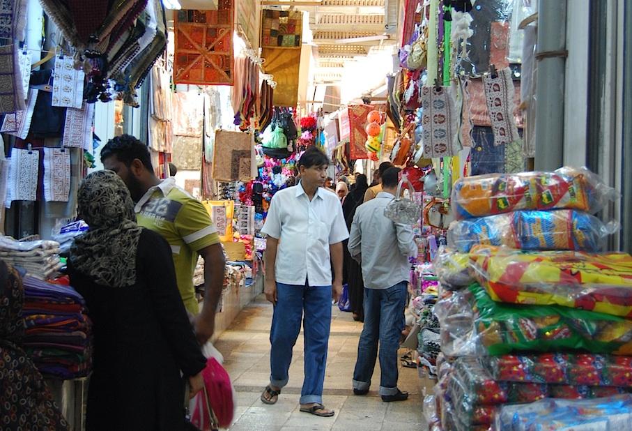 Oman_Muscat_Markt_Decken