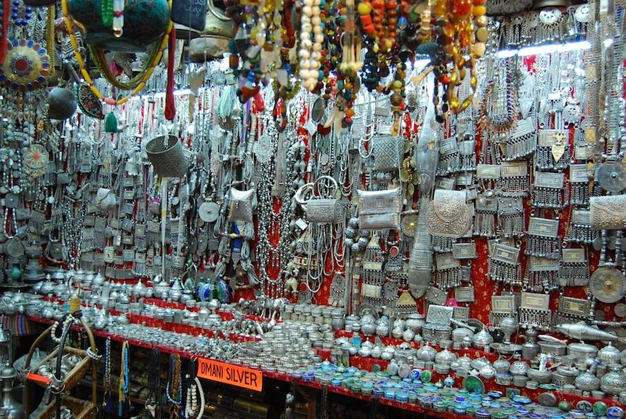 Oman_Muscat_Markt_Silberschmuck