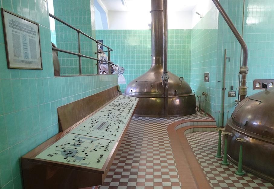 Kulmbach_Brauereimuseum_Sudkessel