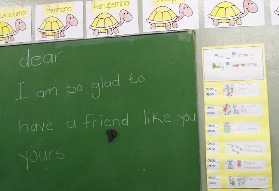 Namibia_Schule_Tafel