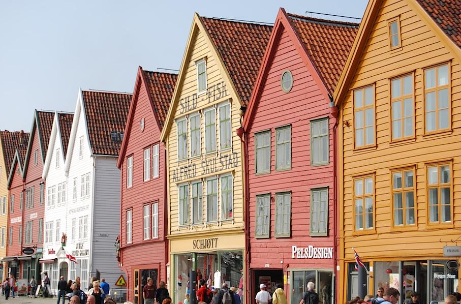 Norwegen_Bergen_Bryggen