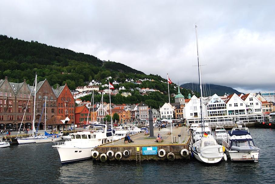 Norwegen_Bergen_Hafen