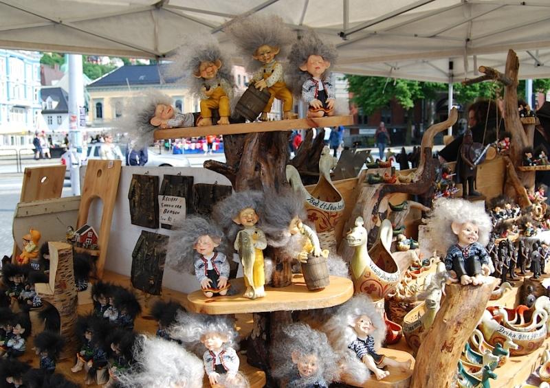 Wie der Markt, so das Land (Teil 6): Norwegen, bei Elchwurst- undTrollverkäufern