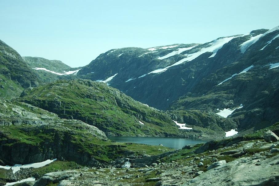 Norwegen_Fjell_Gletscher