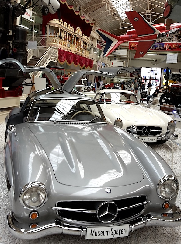 Speyer_Technikmuseum_Oldtimer_Mercedes