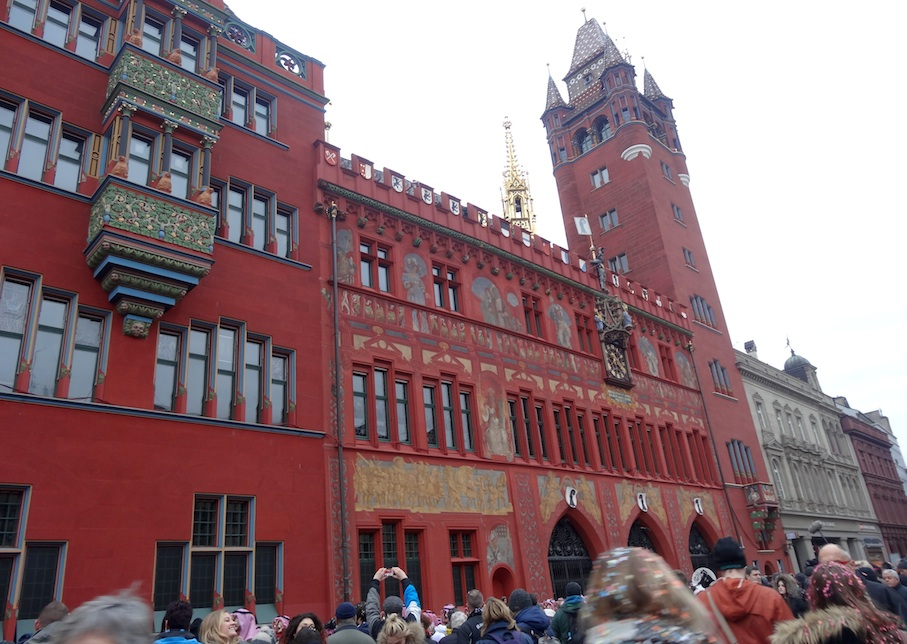 Basel_Fasnacht_Marktplatz