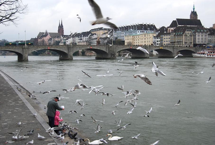 Basel_Fasnacht_Rhein