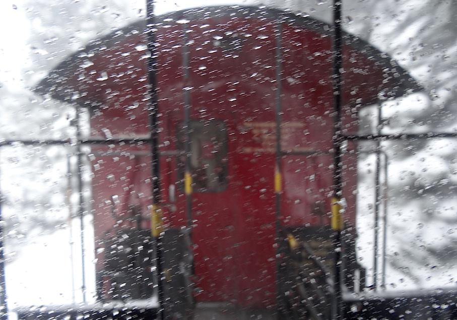 Harz_Brockenbahn_Schneetreiben