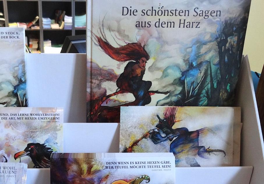 Harz_Souvenir_Sagenbuecher