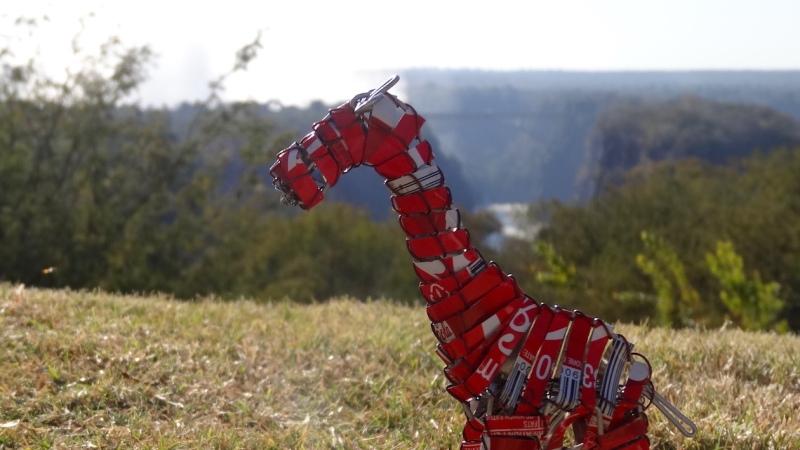 Interview mit einer Recycling-Giraffe