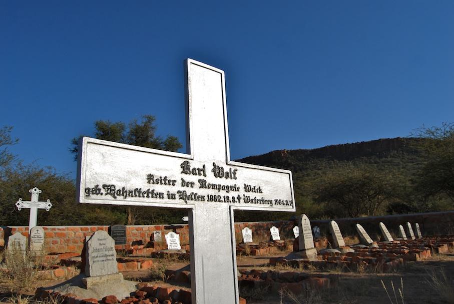 Namibia_Waterberg_deutsche_Kriegsgraeber